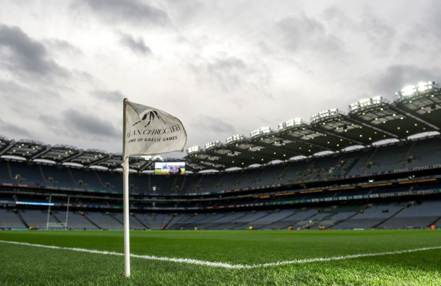 General view of Croke Park ahead of this evening's match