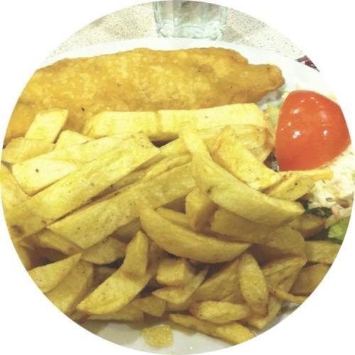 Fish n chips! #latergram