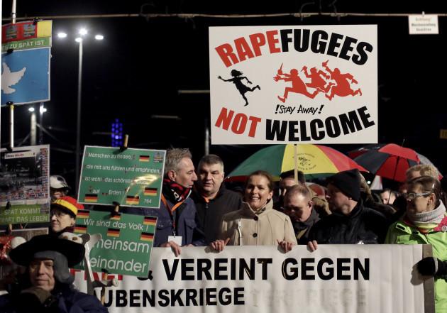 Germany Anti Islam Protest
