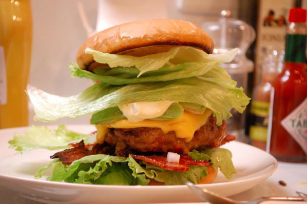A kickass burger