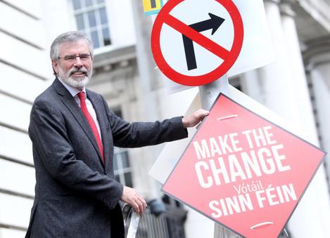 15/5/2014. Sinn Fein Elections Campaigns