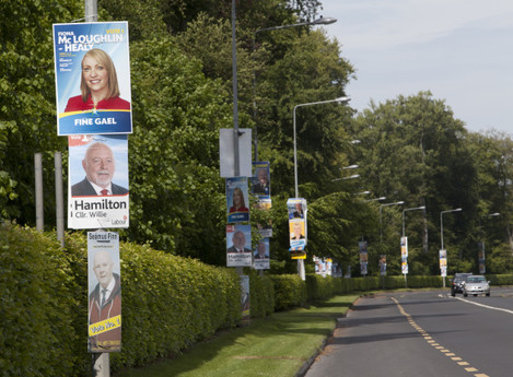 21/5/2014. Elections Campaigns Posters