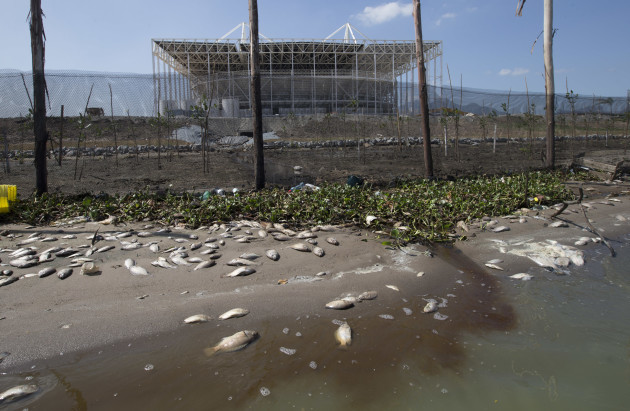 Brazil OLY Rio 2016 Filthy Water