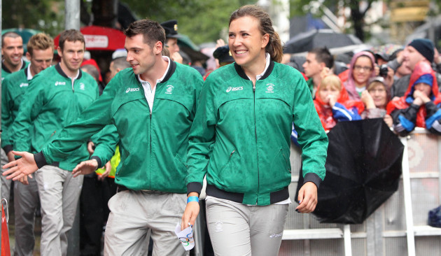 Irish Olympians homecoming
