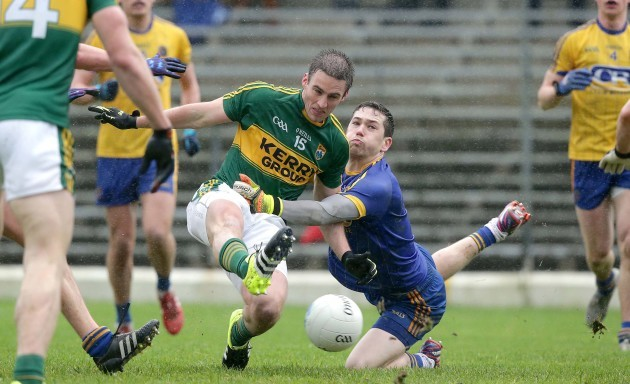 Darren O'Malley is unable to stop Stephen O'Brien scoring a goal