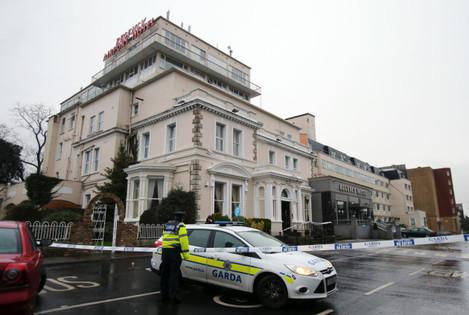 Shooting at Dublin hotel