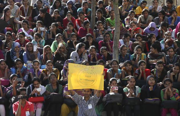 India Internet Protest