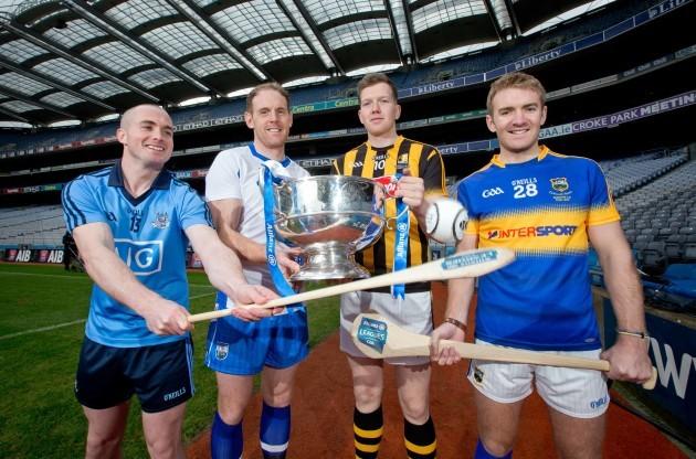 David O'Callaghan, Kevin Moran, Walter Walsh and Noel McGrath