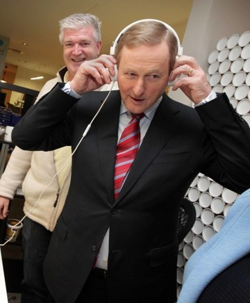 8/2/2016 Pictured after the Fine Gael press confer