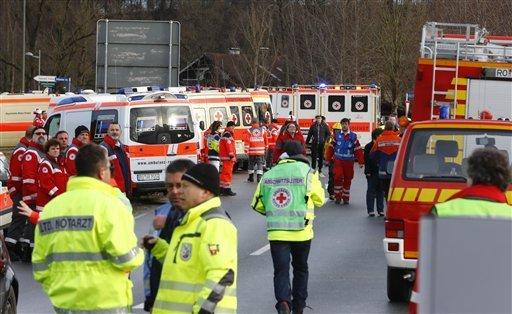 Germany Train Crash