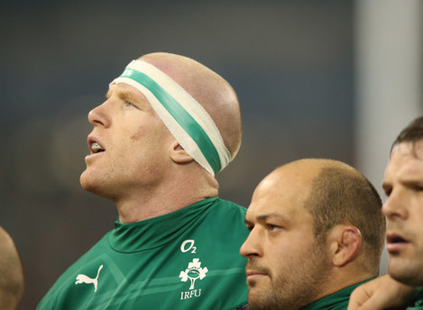 Ireland's Paul O'Connell