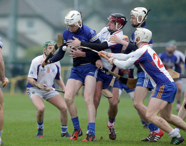 Cian O'Donoghue and Shane Barrett with Darragh Corrry and Cian Lynch