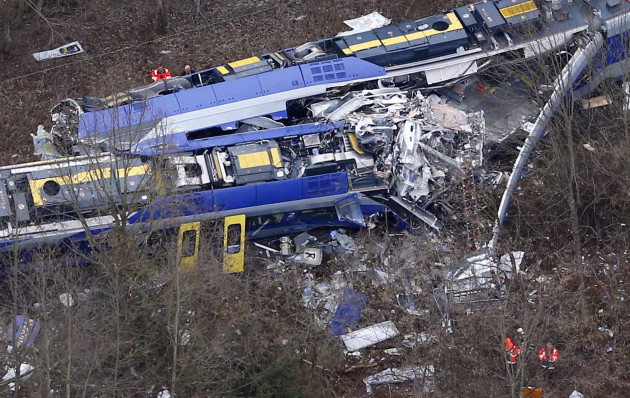 Ten dead and 81 injured in German commuter train crash · TheJournal ie