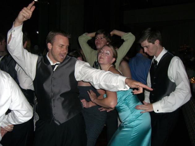 wedding reception dancefloor