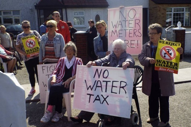 water protests 2014