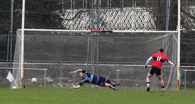 Luke Connolly scores a penalty
