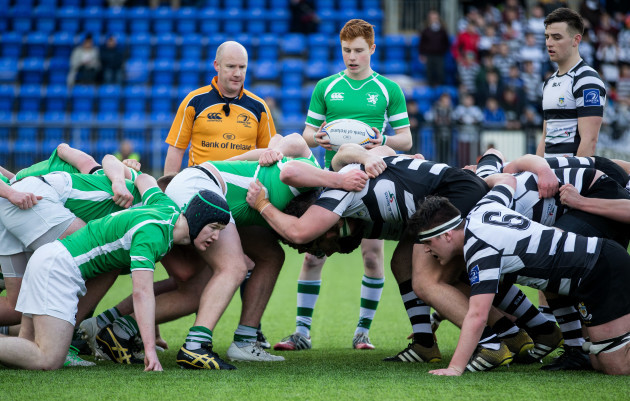 A view of a scrum