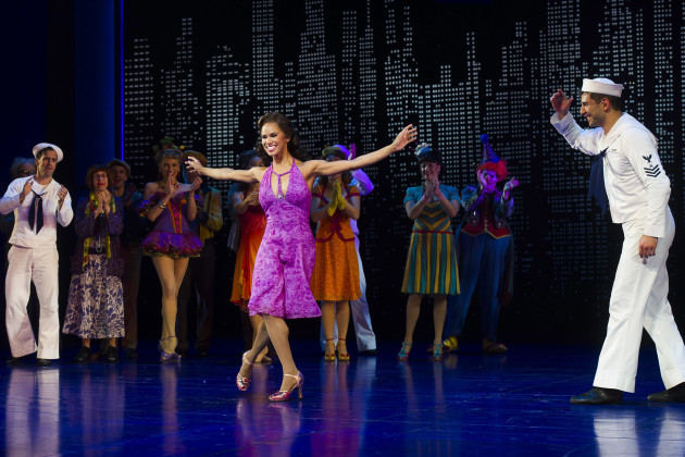 Misty Copeland's Broadway Debut in On The Town