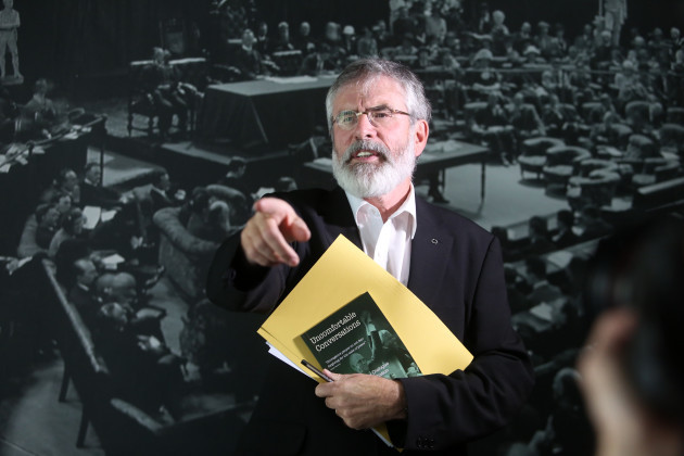 17/9/2015 Gerry Adams