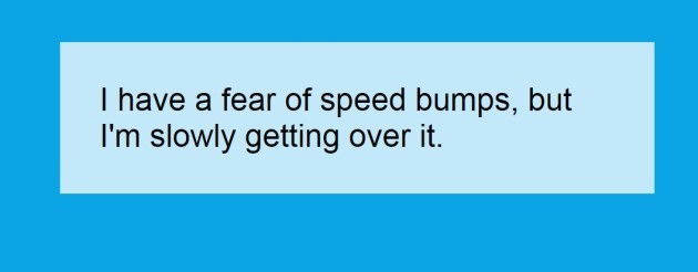speedbumps
