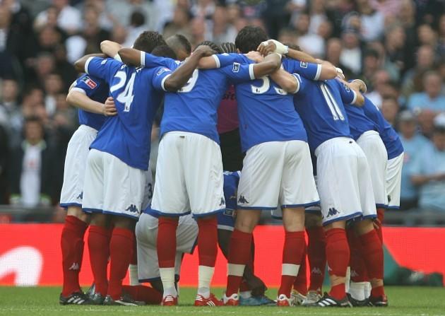 Soccer - FA Cup - Semi Final - Tottenham Hotspur v Portsmouth - Wembley Stadium