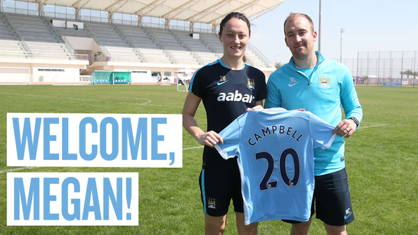 Megan Campbell Manchester City