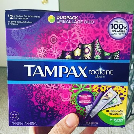 Since when did shopping for #tampons seem like you're going through the #barbie aisle at toysrus?