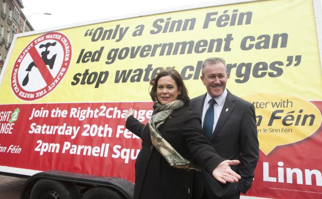19/02/2016. Sinn Fein deputy leader Mary Lou McDon