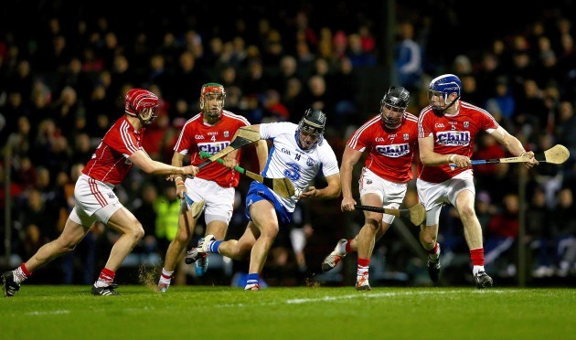 Jake Dillon with Lorcan McLoughlin, Stephen McDonnell, Colm Spillane and Damien Cahalane