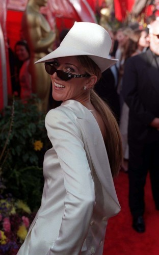 Oscars/Celine Dion