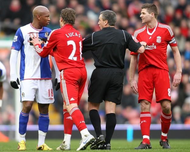 Soccer - Barclays Premier League - Liverpool v Blackburn Rovers - Anfield
