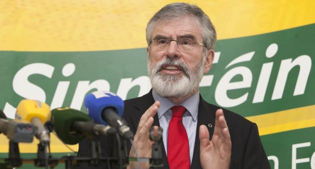 24/2/2016 General Election. Sinn Fein President Ge