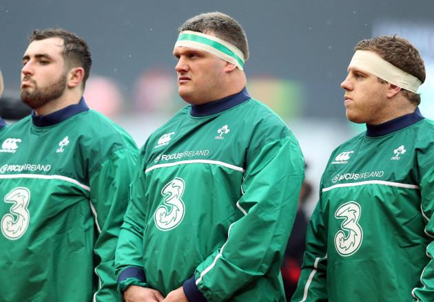 James Cronin, Nathan White and Sean Cronin