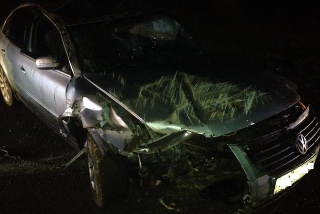 overturned car - 2