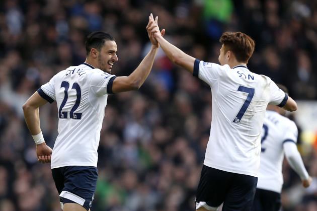 Tottenham Hotspur v Swansea City - Barclays Premier League - White Hart Lane