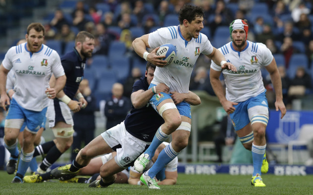 Italy Scotland Rugby Six Nations