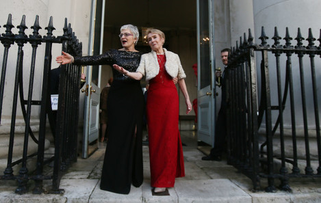 Katherine Zappone renews wedding vows