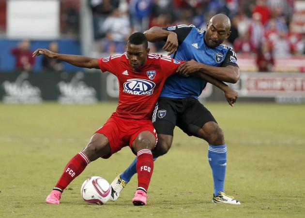 MLS Earthquakes FC Dallas Soccer