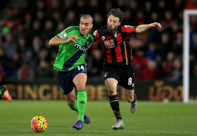 AFC Bournemouth v Southampton - Barclays Premier League - Vitality Stadium
