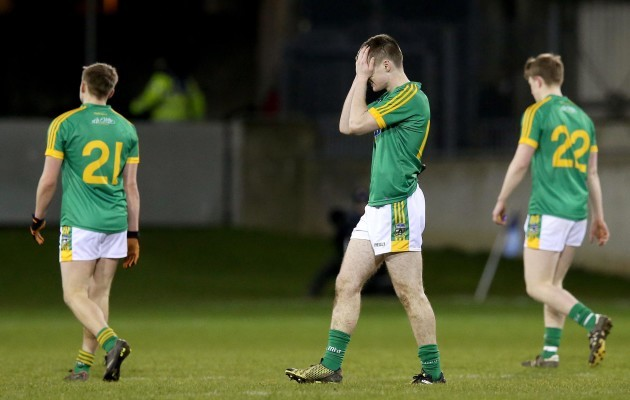 Ruairi O'Caoileann dejected