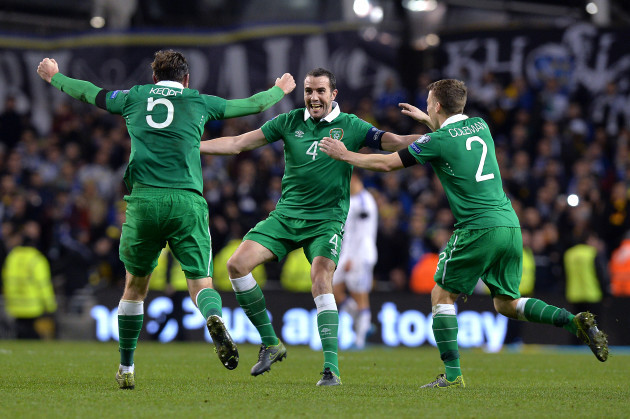 Republic of Ireland v Bosnia and Herzegovina - UEFA Euro 2016 Qualifying - Play-off - Second Leg - Aviva Stadium