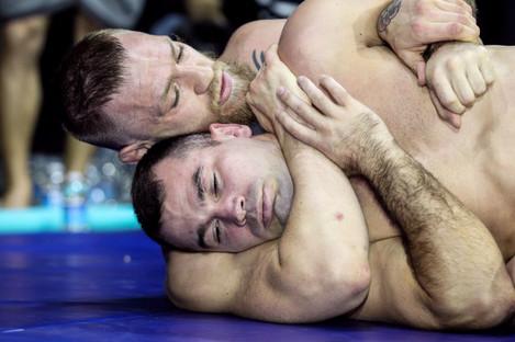 Conor McGregor with training partner Artem Lobov
