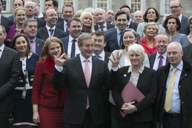 03/02/2016. Fine Gael. Pictured An Taoiseach Enda