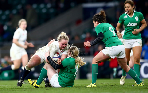 Izzy Noel-Smith and Niamh Briggs