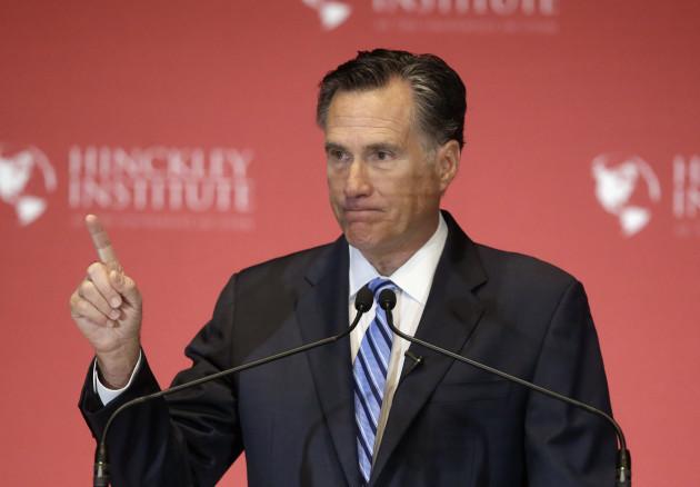 Romney Speech Campaign 2016