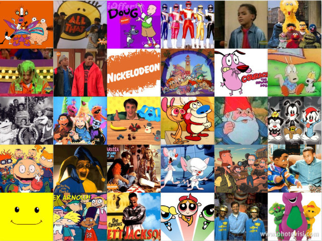 90s-childhood-television-collage