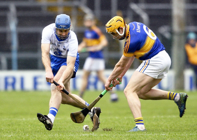 Michael Walsh in action with Ronan Maher