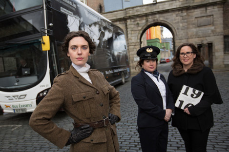 Women of the Rising Bus Eireann and RIA Lch-6