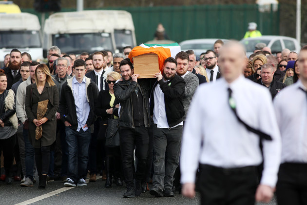 8/3/2016 Vincent Ryan funeral at the Church of the