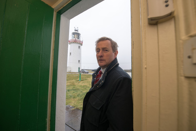 Taoiseach Enda Kenny on a visit